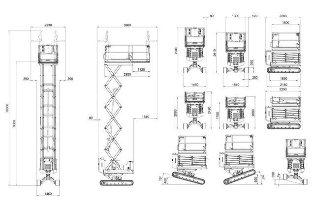 SERVERTecnicoArchivio disegni 3DDimensioni ingombroBibi870
